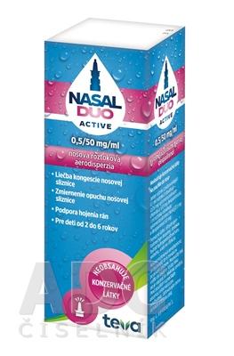 NASAL DUO ACTIVE 0,5/50 mg/ml