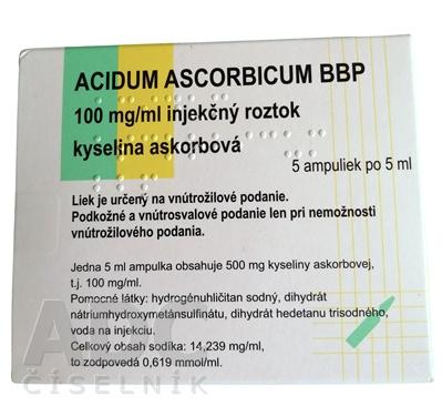 ACIDUM ASCORBICUM BBP
