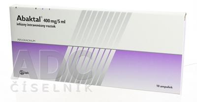 Abaktal 400 mg/5 ml