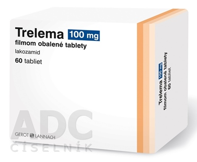 Trelema 100 mg filmom obalené tablety